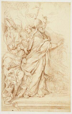 Saint Léon et quatre figures