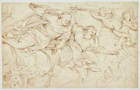 Apparition des saints Pierre et Paul