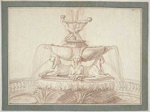 Fontaine aux Sphinx