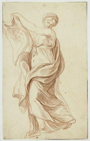 Sainte Véronique debout tenant la Sainte Face