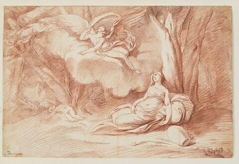 Agar consolée par l'ange