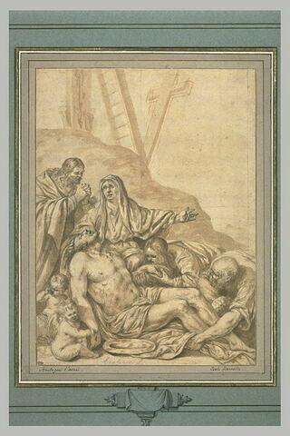 Déploration du Christ mort