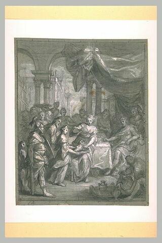 Hérodiade présentant à Hérode la tête de saint Jean-Baptiste