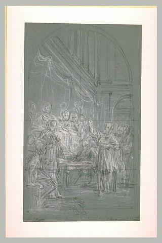 Saint Augustin confond les donatistes dans la conférence de Carthage