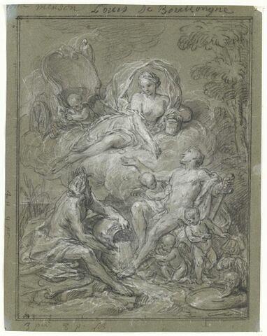 Vénus apporte le nectar et l'ambroisie ou la déification d'Enée