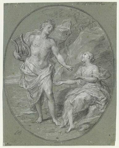 Apollon et la sibylle de Cumes