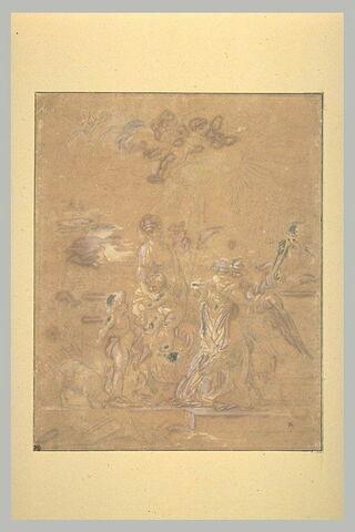 Sainte Famille avec sainte Elisabeth et le petit saint Jean