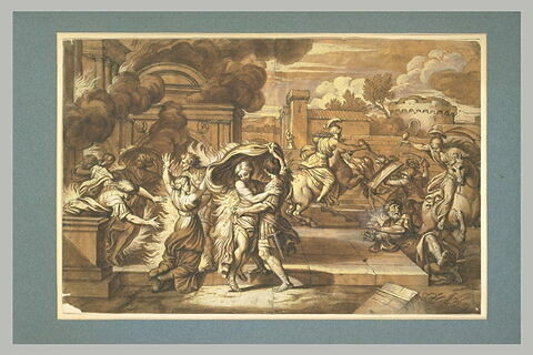 Albione et Yolande incendient le palais de Lesois
