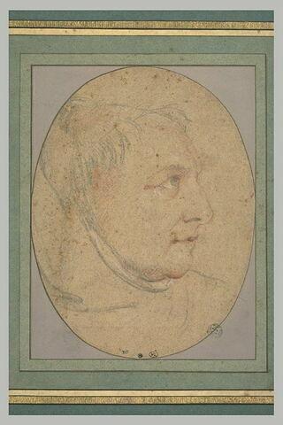 Portrait du père Gonet, dominicain