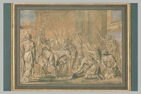 Entrée du Christ dans Jérusalem
