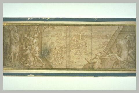 Frédéric le Magnanime, électeur de Saxe, fait prisonnier par Charles Quint