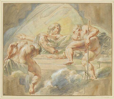 Pluton et Neptune devant Jupiter sous le signe du Poisson