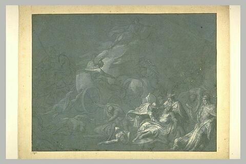 Achille trainant le corps d'Hector sous les murs de Troie