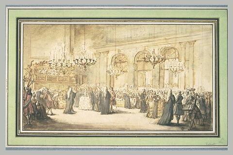 Un bal sous Louis XV
