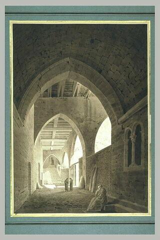 Intérieur du Mont Saint-Michel