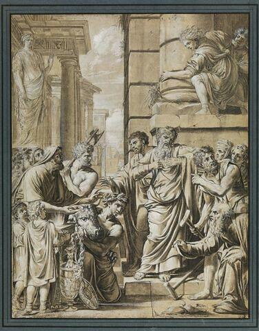 Saint Paul et saint Barnabé refusant de se laisser adorer à Lystre