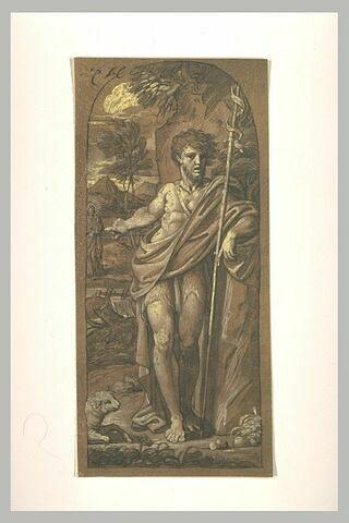 Saint Jean montrant Jésus