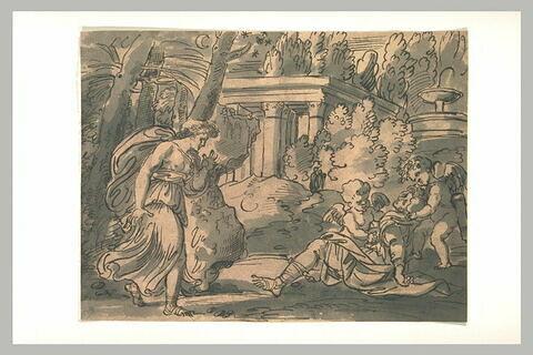 Vénus auprès d'Adonis expirant