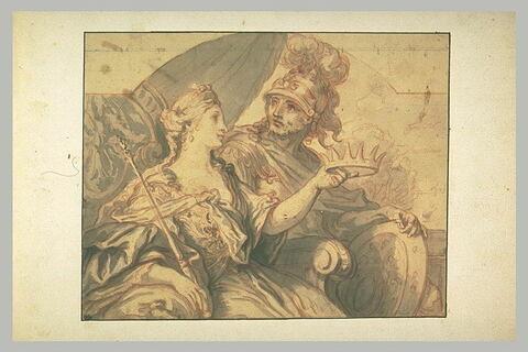 Didon offrant sa couronne à Enée