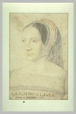 La reine Claude, première femme de François 1er