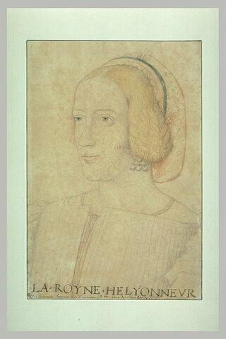La reine Eléonore, seconde femme de François 1er, soeur de Charles Quint