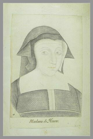 Portrait de Madame de Nevers