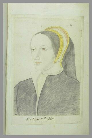 Portrait de Jeanne de Brosse