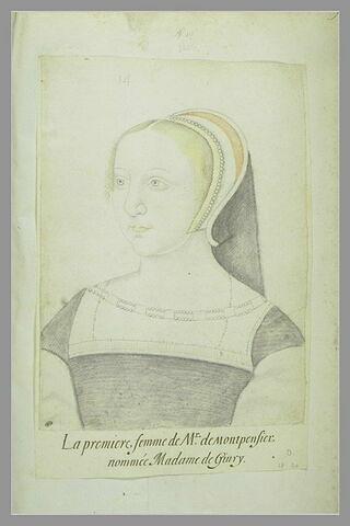 Portrait de Madame de Grivy, première femme de M. de Montpensier
