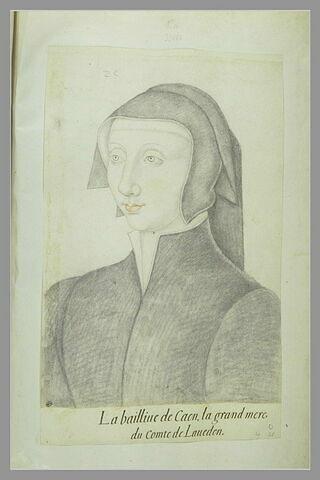 Portrait de la Baillive de Caen, grand-mère du comte de Laueden