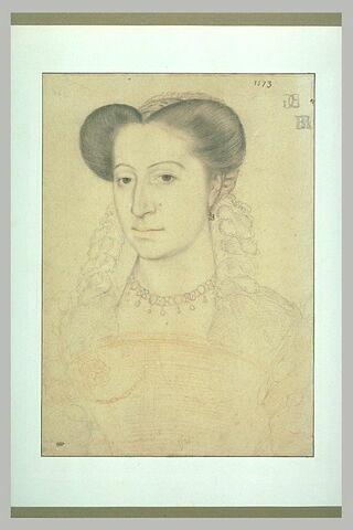 Portrait d'une femme de l'époque de Charles IX
