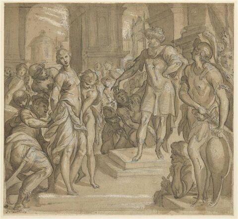Aladin condamnant Sophronie