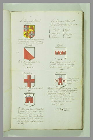 Page d'armorial