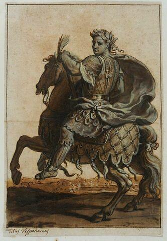 Titus Vespasianus à cheval
