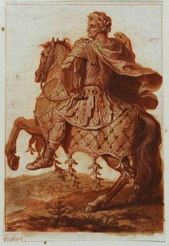 Tibère à cheval
