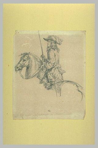 Un cavalier du temps de Louis XIII