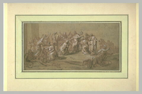Le Christ ressuscitant le fils de la veuve de Naïn