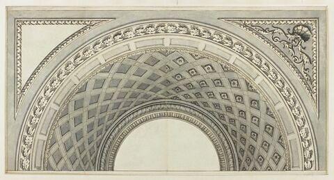 Etude de décoration pour un plafond