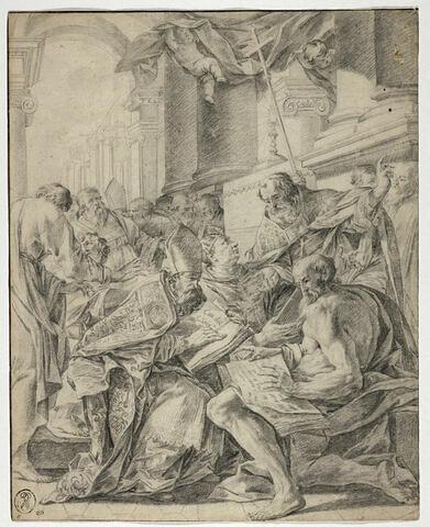 Les quatre Pères de l'Eglise latine