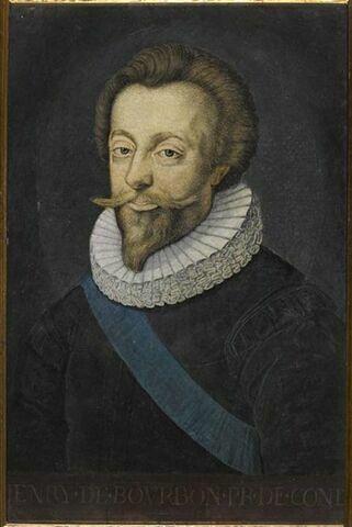 Portrait d'Henri II, prince de Condé