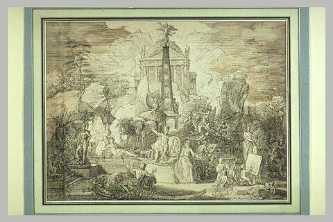 Allégorie de la Gloire du Duc d'Orléans