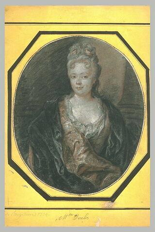 Portrait de Mademoiselle Duclos