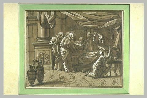 La Résurrection du fils de la veuve de Naïn ou de la fille de Jaïre