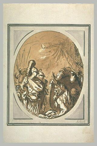 Entrevue d'Alexandre et de Diogène