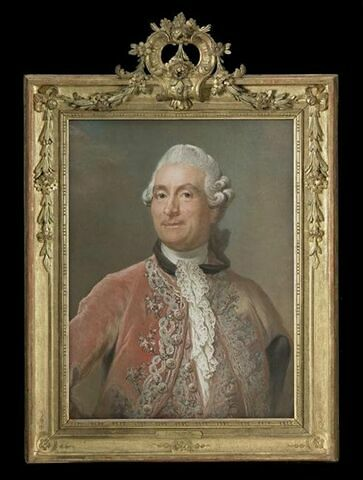 Portrait de Monsieur Charles Gravier de Vergennes (1719-1787).