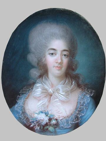Portrait de la comtesse d'Artois ou comtesse de Provence