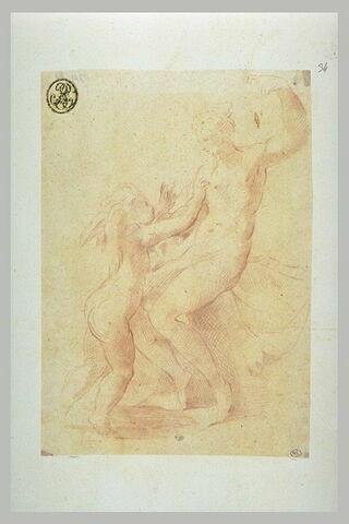 Vénus jouant avec l'Amour