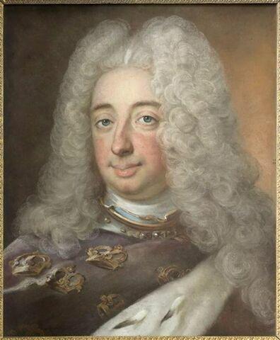 Portrait du roi Frédéric 1er de Suède (1676-1751).