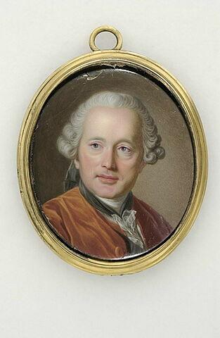 Portrait de l'architecte Soufflot