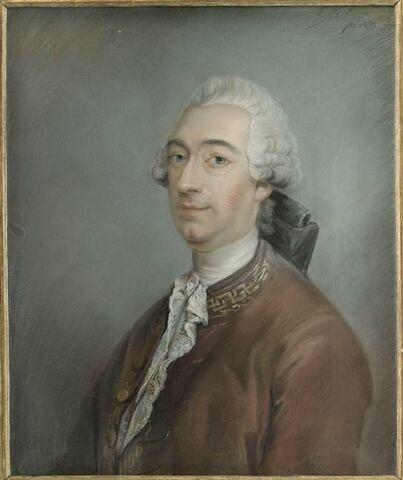 Portrait de Claude Crébillon fils.