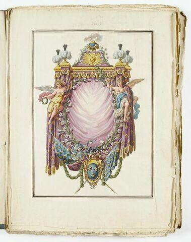 Frontispice du Sacre de Louis XV
